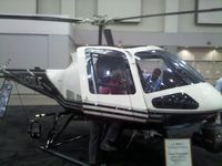 N420LE - LA Impact police helicopter on display at the Airborne Law Enforcement Assocation convention, Tucson Convention Center, Tucson AZ.
