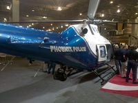 N198FB - Phoenix Police helicopter on display at the Airborne Law Enforcement Assocation convention, Tucson Convention Center, Tucson AZ.