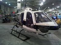 N405TX - Texas Department of Public Safety helicopter on display at the Airborne Law Enforcement Assocation convention, Tucson Convention Center, Tucson AZ.
