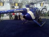 N501RM - Pasadena Police helicopter on display at the Airborne Law Enforcement Assocation convention, Tucson Convention Center, Tucson AZ.