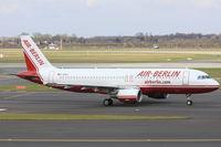 D-ABDG @ EDDL - Air Berlin, Airbus A320-214, CN: 2835 - by Air-Micha