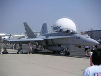 163441 @ KHHR - McDonnell-Douglas F/A-18D Hornet 163441, VMFAT-101 #242 on the ramp at the 2004 Air - by Mark Kalfas