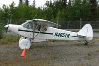 N405TH @ PASX - 1975 Piper PA-18-150, c/n: 18-7509005 at Soldotna