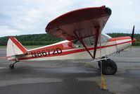 N8672D @ PASX - 1957 Piper PA-18-150, c/n: 18-6273 at Soldotna
