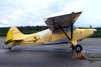 N2013U @ PASX - 1968 Maule M-4-210C, c/n: 1066C at Soldotna