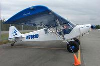 N7081D @ LHD - 1957 Piper PA-18-150, c/n: 18-5567 at Lake Hood