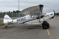 N4361Z @ SXQ - 1968 Piper PA-18-150, c/n: 18-8680 at Lake Hood