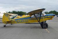 N4493Z @ LHD - 1969 Piper PA-18-150, c/n: 18-8847 at Lake Hood
