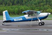 N5250D @ SXQ - 1957 Cessna 180A, c/n: 50148
