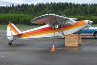N925N @ PASX - 1978 Piper PA-18-150, c/n: 18-7909007 at Soldotna