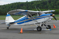 N8624D @ PASX - 1958 Piper PA-22-160, c/n: 22-5827 at Soldotna