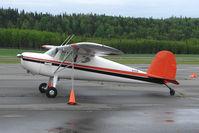 N1945N @ PASX - 1947 Cessna 120, c/n: 12185 at Soldotna