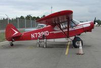 N7391D @ LHD - 1957 Piper PA-18-150, c/n: 18-5756 at Lake Hood