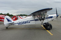 N526KG @ LHD - 1957 Piper PA-18-150, c/n: 18-4294 at Lake Hood