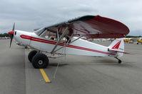 N8225C @ LHD - 1954 Piper PA-18, c/n: 18-3668 at Lake Hood