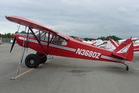 N3680Z @ LHD - 1960 Piper PA-18-150, c/n: 18-7409 at Lake Hood