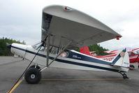 N3573P @ LHD - 1955 Piper PA-18A 150, c/n: 18-4527 at Lake Hood