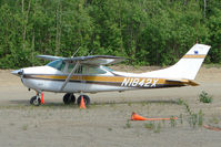 N1842X @ PAUO - 1964 Cessna 182H, c/n: 18255942 at Willow AK