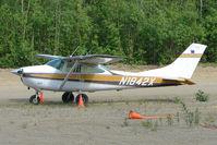 N1842X @ PAUO - 1964 Cessna 182H, c/n: 18255942 at Willow AK
