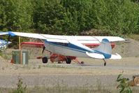 N2201D @ PAUO - 1952 Cessna 170B, c/n: 20353 at Willow AK