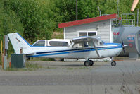 N54633 @ PAUO - 1981 Cessna 172P, c/n: 17275016 at Willow AK
