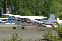 N64044 @ PAUO - 1977 Cessna 180K, c/n: 18052865 at Willow AK