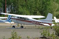 N64044 @ PAUO - 1977 Cessna 180K, c/n: 18052865 at Willow AK
