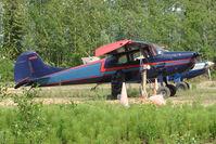 N5786C @ PAUO - 1950 Cessna 170A, c/n: 19740 at Willow AK