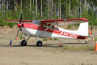 N4725U @ PAUO - 1964 Cessna 180G, c/n: 18051425 at Willow AK
