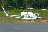 N398EH @ PAAQ - 1976 Bell 212, c/n: 30766 at Palmer AK