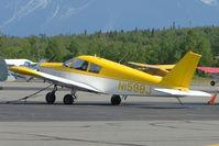 N1598J @ PAWS - 1967 Piper PA-28-140, c/n: 28-24009 at Wasilla AK