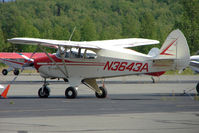 N3643A @ PAWS - 1953 Piper PA-22-135, c/n: 22-1901