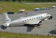 N27TN @ PAWS - 1951 Douglas SUPER R4D-8, c/n: 43332 at Wasilla AK