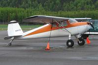N2977N @ PASX - 1947 Cessna 140, c/n: 13235 at Soldotna