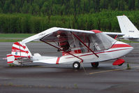 UNKNOWN @ PASX - Experimental aircraft at Soldotna - any help with correct tail number ?? - please e-mail me - by Terry Fletcher