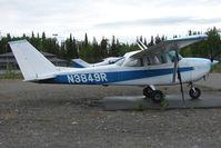 N3849R @ PASX - 1966 Cessna 172H, c/n: 17255349 at Soldotna