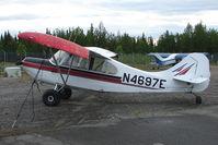 N4697E @ PASX - 1950 Champion 7EC, c/n: 7EC-44 at Soldotna