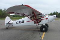 N78565 @ LHD - 1947 Piper PA-12, c/n: 12-3940 at Lake Hood