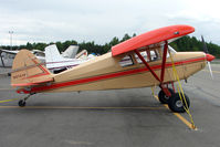 N3747P @ LHD - 1955 Piper PA-22-150, c/n: 22-3467 at Lake Hood
