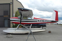 N4961A @ LHD - 1956 Cessna 180, c/n: 32358 at Lake Hood