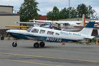 N107TA @ LHD - 1975 Piper PA-32-300, c/n: 32-7540099 at Lake Hood
