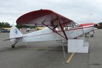 N2410P @ LHD - 1955 Piper PA-18-150, c/n: 18-4277 at Lake Hood