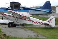N91117 @ LHD - 1981 Piper PA-18-150, c/n: 18-8109072 at Lake Hood