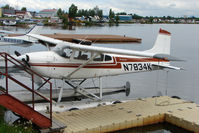 N7834K @ LHD - 1976 Cessna 180J, c/n: 18052768 at Lake Hood