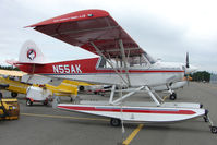 N55AK @ LHD - 2000 Aviat Aircraft Inc A-1B, c/n: 2129 Husky at Lake Hood