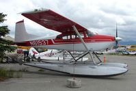 N61537 @ LHD - 1976 Cessna 180K, c/n: 18052780 at Lake Hood