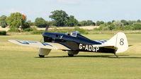 G-ADGP @ EGTH - 1. G-ADGP  at Shuttleworth Mid Summer Air Display July 2010 - by Eric.Fishwick