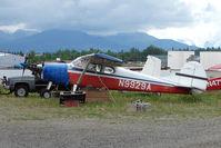 N9929A @ LHD - 1950 Cessna 170A, c/n: 19289 at Lake Hood
