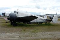 N255D @ LHD - 1954 Beech E18S, c/n: BA-16 at Lake Hood