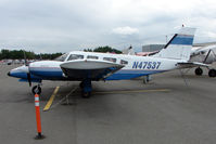 N47537 @ LHD - 1977 Piper PA-34-200T, c/n: 34-7770413 at Lake Hood